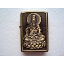 Hand Carved Vietnam Lighter -with statue Buddha - very rare 3