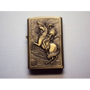 Hand Carved Vietnam Lighter - the Knight on horseback - very rare