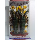 Lot of 2 Big Dried Lobsters -Packed in frame-For Wall Hangging Decor-Vietnam sea