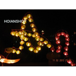 4 Wholesale: Vietnam HOI AN Silk Lanterns WEDDING PARTY - Wedding Home Decoration