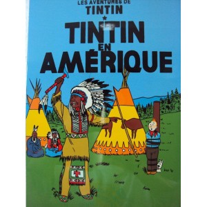 Vietnam Beautiful Lacquer Art Paiting/ Plate picture - Tintin in America