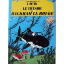 Vietnam Lacquer Art Paiting/ Plate picture - Tintin Red Rackham's Treasure