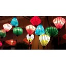 Set 50 pcs Vietnamese silk lanterns 16' for Christmas Decoration - New Year Decor -Wedding decoration