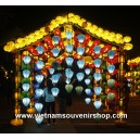 Vietnamese Silk Lanterns for wedding decoration - lanterns for outdoor decor