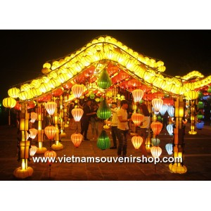 Lanterns for wholesale from Vietnam - silk lanterns for wedding decoration - lanterns for outdoor decor
