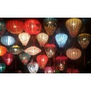 Set of 10 pcs Silk Lanterns 30cm for lcentral