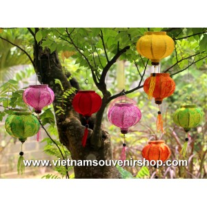 Mini Silk Lanterns 10cm  - for christmas decoration - lanterns for wholesale