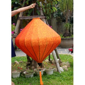 Big silk lanterns for festival decoration - Vietnamese silk lanterns for Wedding Decoration