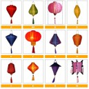 Wholesale: Vietnamese HOIAN Silk Lanterns WEDDING PARTY Decor Home Decoration