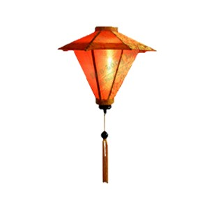 1 Umbrella lanterns- Vietnamese HOIAN Silk Lanterns WEDDING PARTY - Wedding Home Decoration