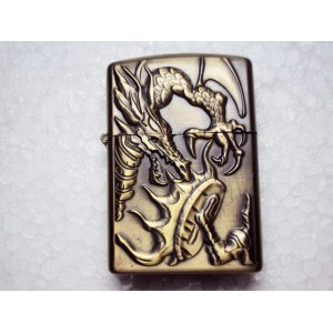New Hand Carved Lighter - Dragon pattern - very nice -Handmade lighter
