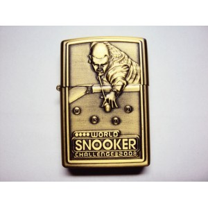Hand Carved Lighter -World snooker challenge 2008 - very Nice-handmde lighter