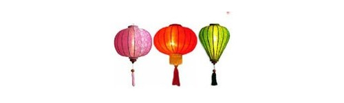 Hoian Silk lanterns